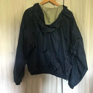 Steve and Barry's Jackets & Coats - University of Michigan Wind Breaker with hoodie